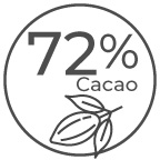 72% Cacao Dark Chocolates