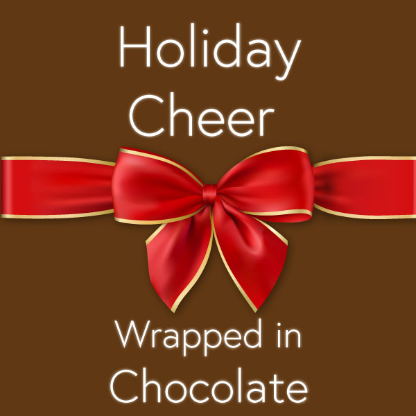 Holiday Cheer Wrapped in Chocolate